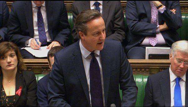 Cameron pide al parlamento británico bombardear al ISIS