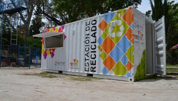 Reciclado de residuos ya tienen sus cuatro estaciones en Ezeiza