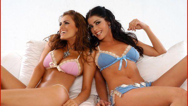 Después de 12 años se reencontraron Silvina Luna y Pamela David