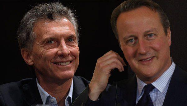 David Cameron llamó a Macri para felicitarlo