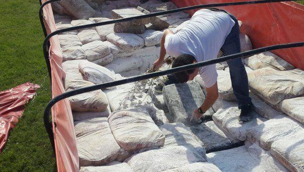 Chaco: secuestraron más de tres toneladas de marihuana