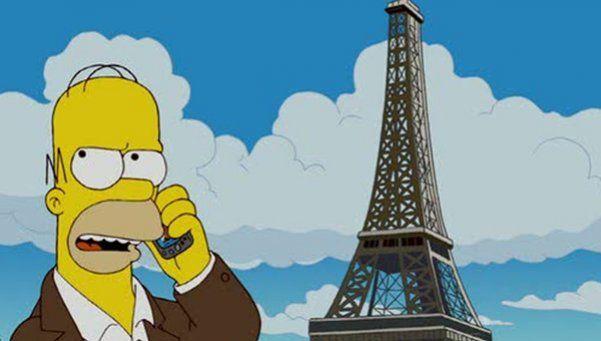 Los Simpsons homenajearán a las víctimas de los atentados en París