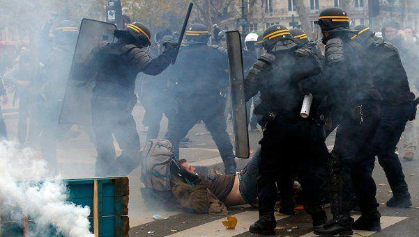 París: incidentes en la previa de la Cumbre del Cambio Climático