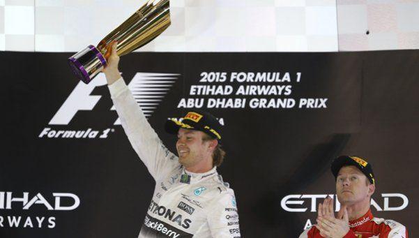 Fórmula 1: Rosberg ganó la última carrera de la temporada