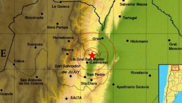 Dos sismos sacudieron Salta y Jujuy