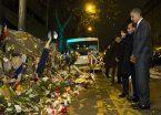 Obama y Hollande homenajearon en Bataclan a las víctimas de París