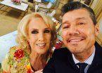 Tinelli visitó a Mirtha y la invitó a conocer al Papa Francisco en 2018