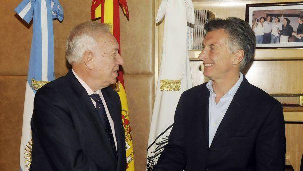 Macri abrió agenda internacional con la visita del canciller español