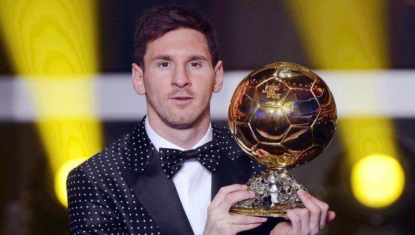 Messi, Neymar y Cristiano, los nominados al Balón de Oro