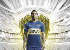 Con Tevez de modelo, Boca presentó la nueva camiseta