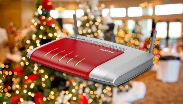 Las luces de Navidad afectan la velocidad del Wi-Fi