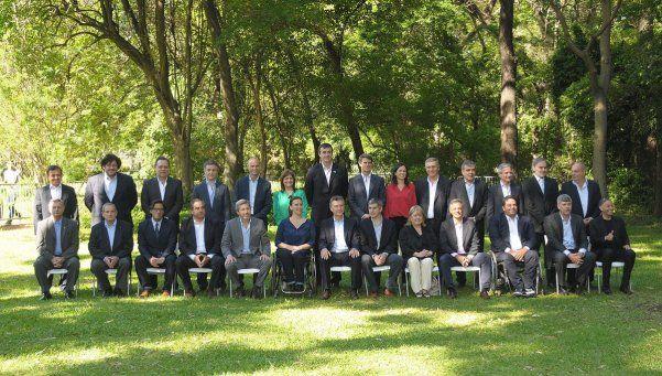 Macri presentó a su Gabinete: No habrá impunidad para nadie