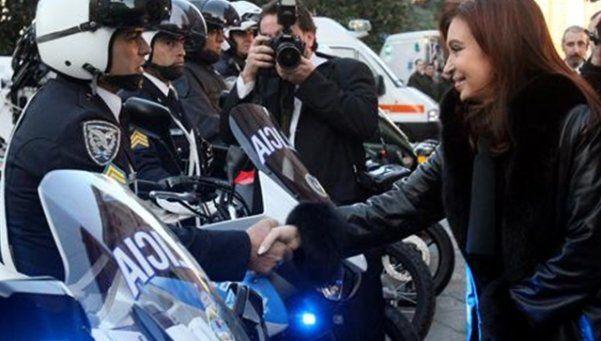 Una nueva división de la Policía Federal custodiará a Cristina