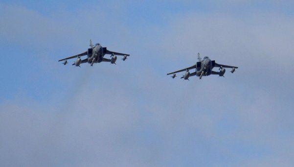 Los aviones británicos ya bombardean Siria