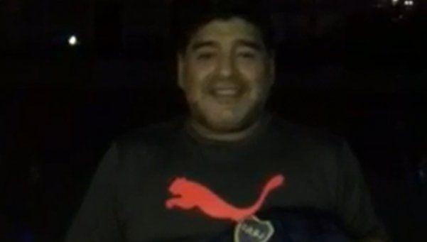 Maradona apostó en las elecciones de Boca: Ojalá gane Angelici