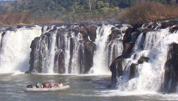 Saltos del Moconá, vivir la selva en primera persona