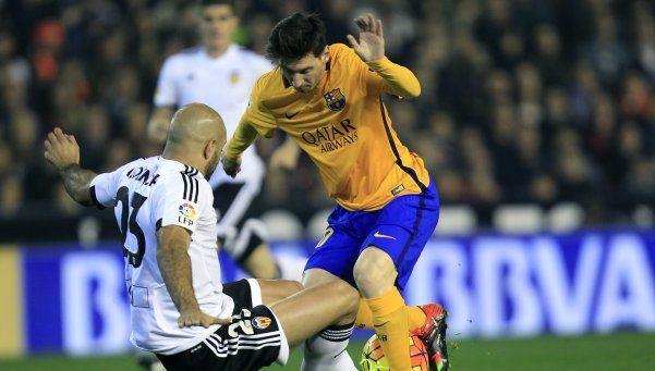 Al Barsa de Messi se le escapó al final y los demás aprovecharon