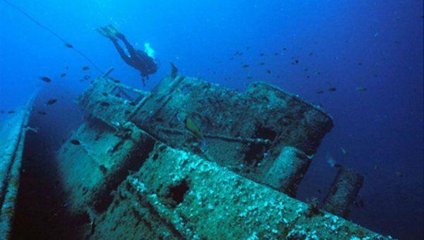 Encuentran barco hundido hace 300 años con tesoro millonario