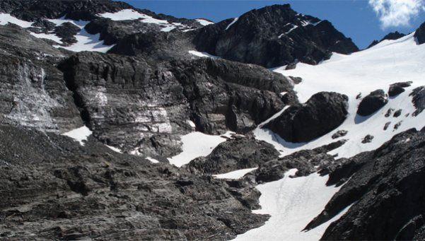 Un matrimonio de no videntes escaló un glaciar en Ushuaia