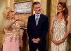 El próximo almuerzo de Mirtha será con Macri… ¡en la Rosada!