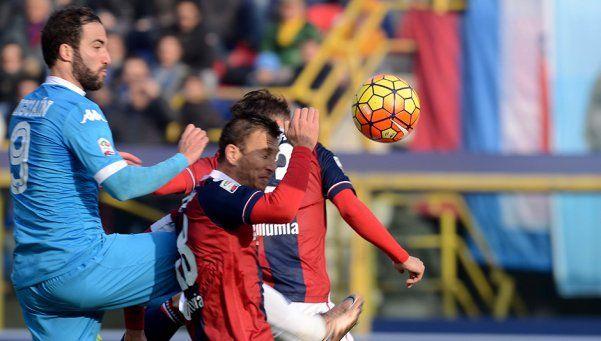 Higuaín la rompió, pero al Napoli no le alcanzó y perdió la punta