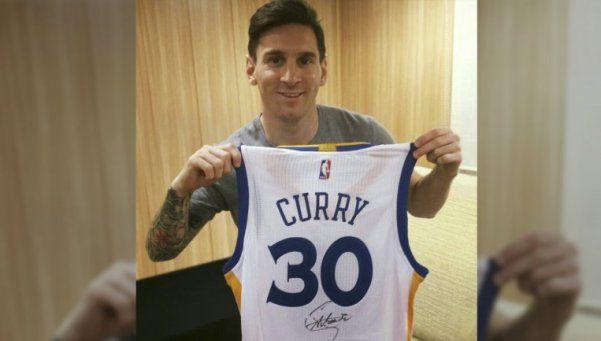 La insólita promesa de Messi a una estrella de la NBA