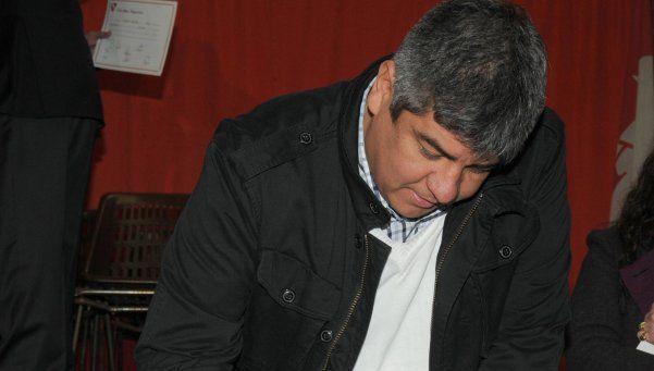 Pablo Moyano insultó a Loustau y acusó al presidente de Racing