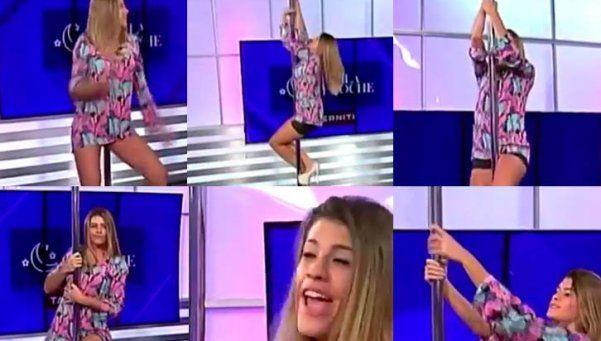 Quiero verla en el show: Flor Zaccanti y su infartante baile del caño