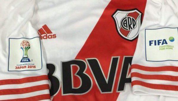 River presentó la camiseta que usará en el Mundial de Clubes