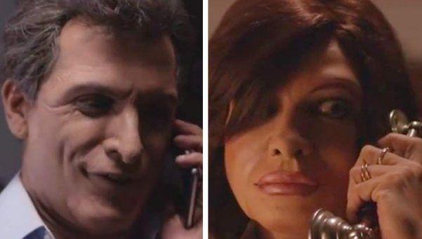 Desopilante: la conversación entre Macri y Cristina, por Bossi