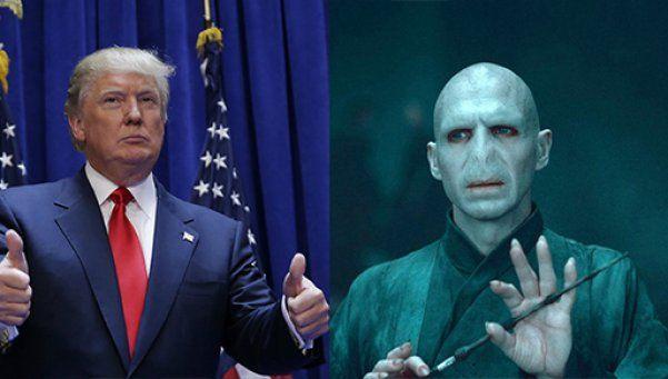¿Donald Trump es más malvado qué Lord Voldemort?