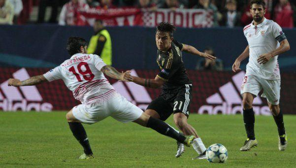 Champions: Juventus perdió ante Sevilla y el City le robó la punta