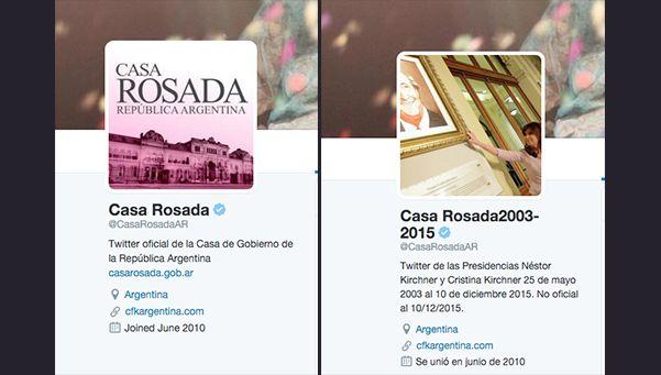 Así reaccionó Twitter por la apropiación del perfil de Casa Rosada