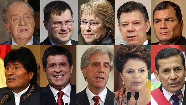 Los presidentes, reyes y ministros que vienen a la asunción de Macri