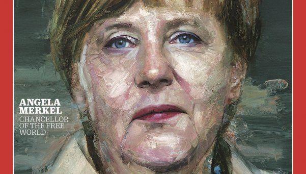 Angela Merkel fue elegida persona del año por la revista Time