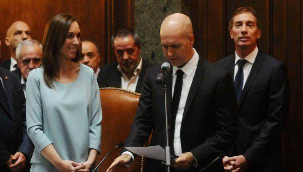 Larreta juró como jefe de Gobierno porteño