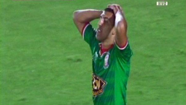 Video | El increíble gol que erró Ábila al minuto de partido