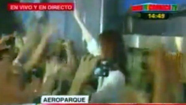 Cristina Kirchner viajó en un vuelo regular a Río Gallegos