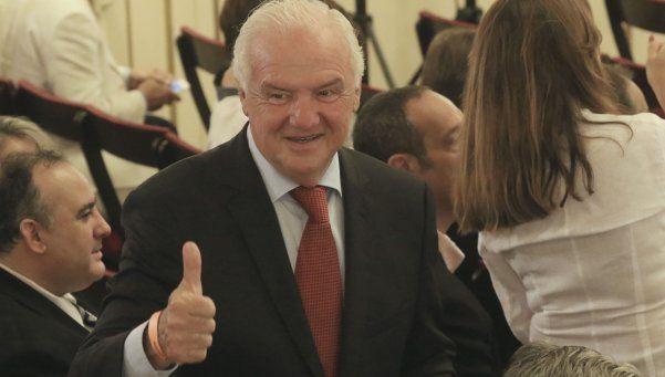 Fernando Niembro presenció la asunción de Mauricio Macri