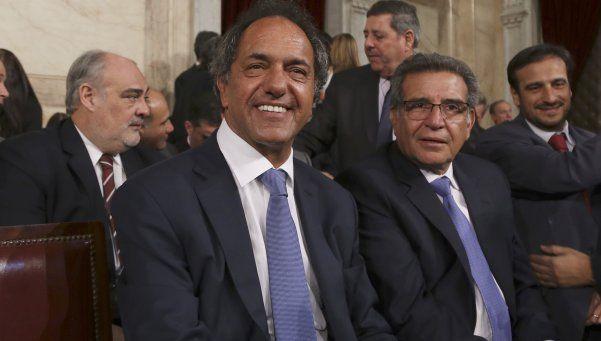 Scioli abogó por mantener la unidad en el peronismo
