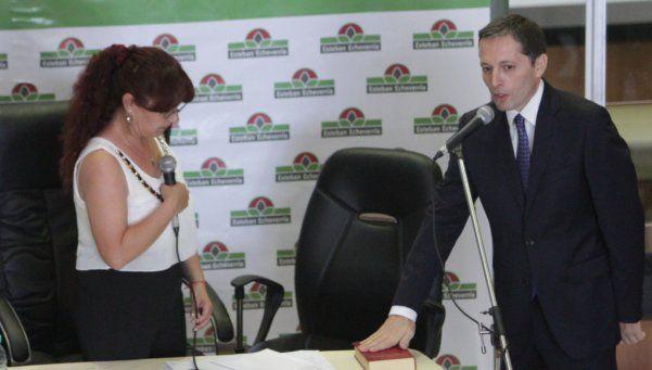 Fernando Gray asumió su tercer mandato en Esteban Echeverría