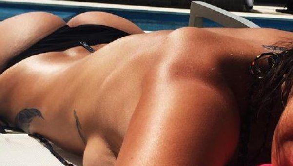 Ivana Nadal se separó de su novio y publicó fotos hot