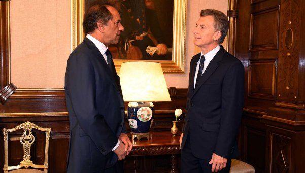 Scioli aceptó acompañar a Macri a alguna salida internacional