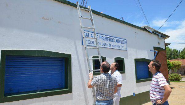 Practicaron primeros auxilios a Sala José de San Martín de Turdera