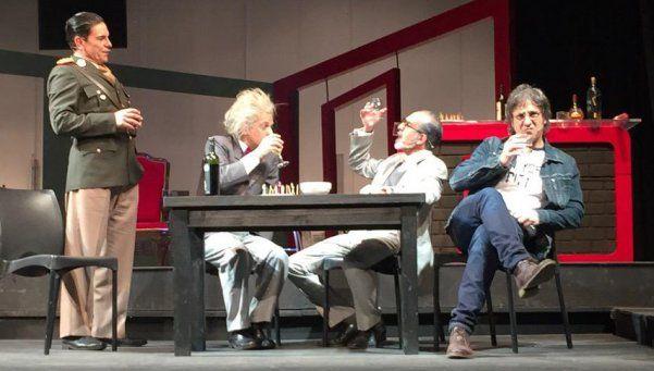 Cinco genios se encuentran en el Teatro Municipal de Lomas
