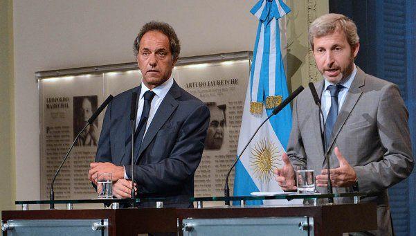 Macri y Scioli tuvieron una reunión muy fructífera en la Rosada