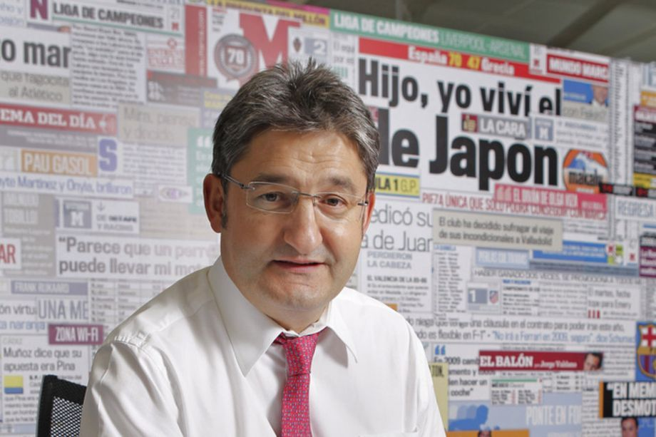 Mano a mano con Óscar Campillo, director del diario MARCA