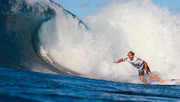El mejor surfista argentino: El año que viene llego seguro a la elite