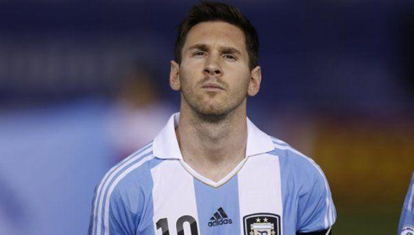 Messi: No canto el himno a propósito