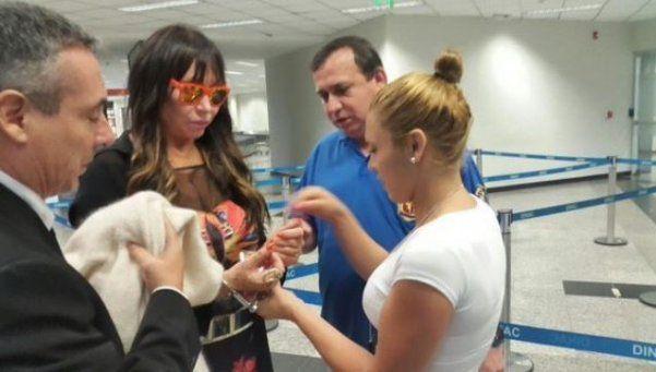 Moria viajó a Paraguay y quedó detenida